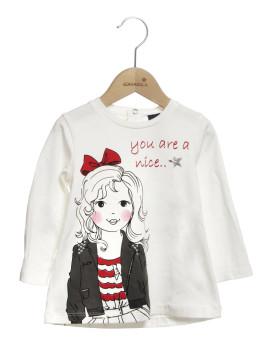 T.Shirt Mini r M Girandola Cru
