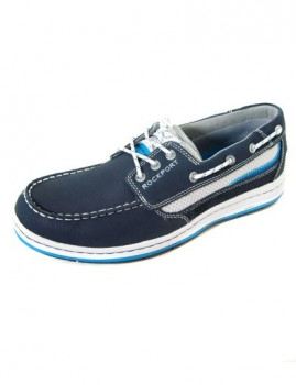 75d904988 Sapato de Vela Rockport 3-Eye Azul, até 2019-02-10