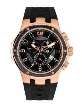 Relógio Cat NAVIGO CARBON chrono Preto e Dourado Rosa