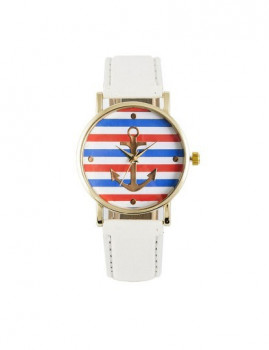 Relógio Sidartha Marine Branco Senhora
