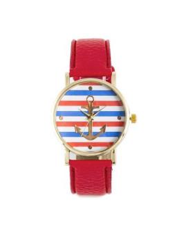 Relógio Sidartha Marine Vermelho Senhora