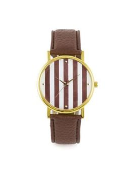Relógio Sidartha Venice Castanho Senhora