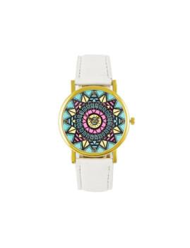 Relógio Etnic Branco Senhora