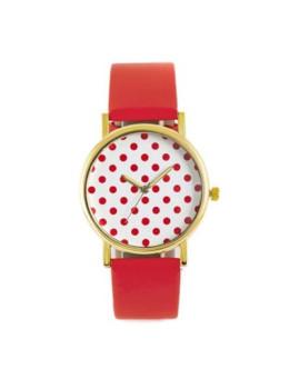 Relógio Sidartha Spoot Vermelho Senhora