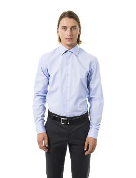 Camisa Uominitaliani Azul Claro