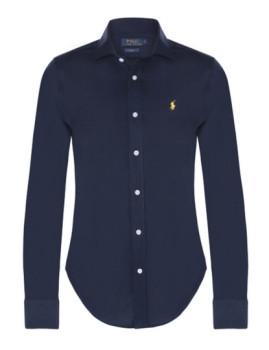 Camisa Ralph Lauren Senhora Azul Navy