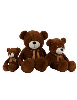 imagem de Urso de Peluche Grande Castanho Oxido2