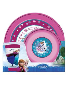 Conjunto Para Refeição 3 Peças Frozen