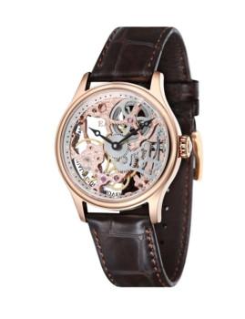 Relógio Thomas Earnshaw Bauer Dourado Rosa, Castanho e Prateado
