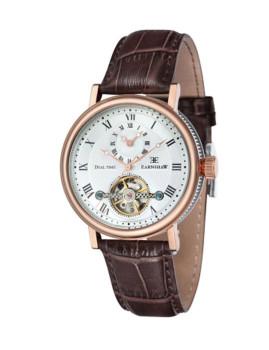 Relógio Thomas Earnshaw Beaufort Dourado Rosa, Castanho e Branco