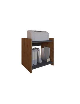imagem de Mesa de Apoio Style Cerejeira e Cinza1