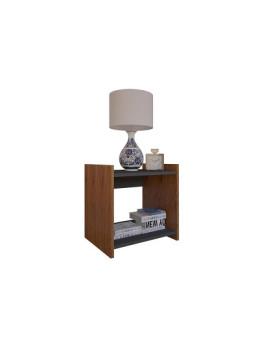 imagem de Mesa de Apoio Style Cerejeira e Cinza2