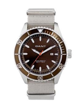 Relógio Gant Homem Seabrook Military Castanho