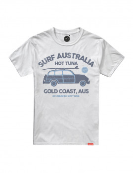 T-Shirt  Hot Tuna Woody Surf Branco