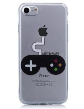 Capa Transparente Interactiva Lets Play Iphone 7 Transparente
