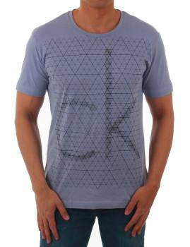 T-shirt Calvin Klein Jeans Violeta