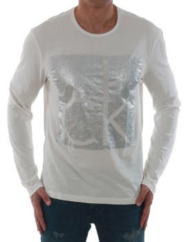 T-shirt Calvin Klein Jeans Branco
