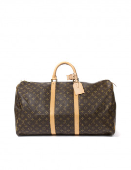 Louis Vuitton Keepall 55 Castanha