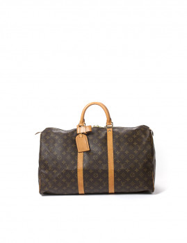 Louis Vuitton Keepall 50 Castanha