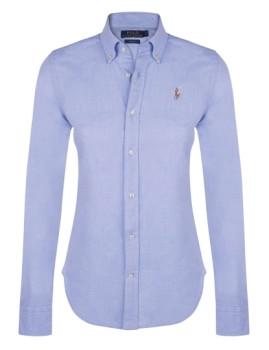 Camisa de Senhora Ralph Lauren   Azul