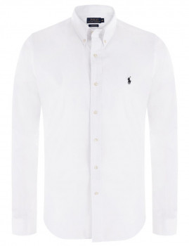 Camisa de Homem Ralph Lauren Branco e Preto