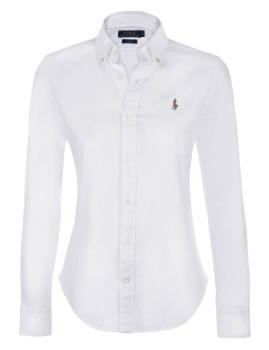 Camisa de Senhora Ralph Lauren   Branco