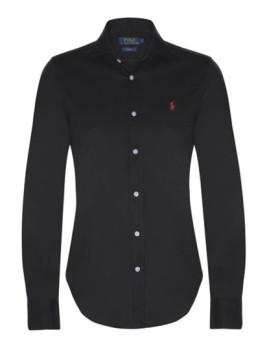 Camisa de Senhora Ralph Lauren Preto