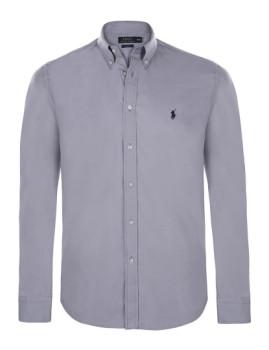 Camisa de Homem Ralph Lauren Cinzento