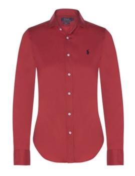 Camisa de Senhora Ralph Lauren Vermelho