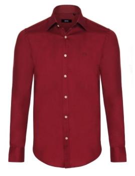 Camisa de Homem Hugo Boss Bordeaux
