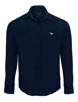 Camisa de Homem Armani Azul Navy