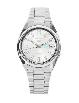 Relógio Seiko 5 Gent Classic Prateado e Cinza