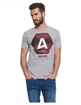 T-shirt Homem Hexes Cinza