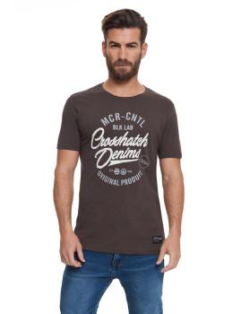 T-shirt Homem Laithkirk Cinza Escuro