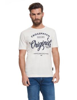 T-shirt Homem Sunburys Cinza Claro