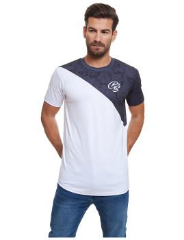 T-shirt Homem Connors Azul Navy