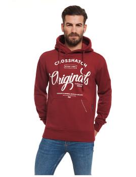 Sweatshirt  Homem Gilgurry Vermelho