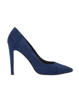 4b1e061a2e Sapato de Salto Alto Roberto Botella Bicudo Azul Marinho