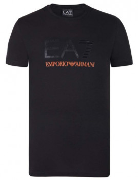 T-Shirt Emporio Armani Regular Fit Preto Homem