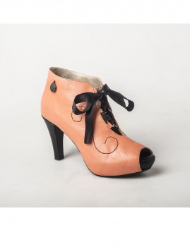 Botim Curly Bootie Coral