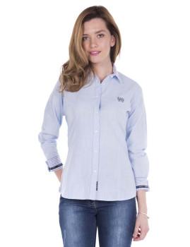 Camisa Linho Sir Raymond Tailor Cleek Azul