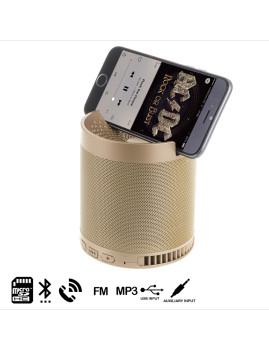 Coluna Bluetooth Hfq6 Dourado