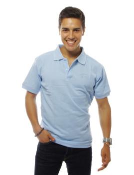 Pólo SMF Homem  Azul Claro