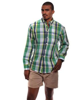 Camisa SMF Homem  Verde e Multicolorido