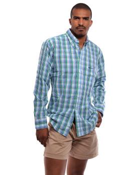 Camisa SMF Homem  Azul e Multicolorido