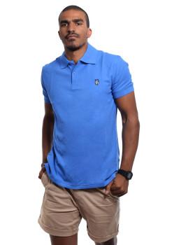 Pólo SMF Homem  Azul Celeste
