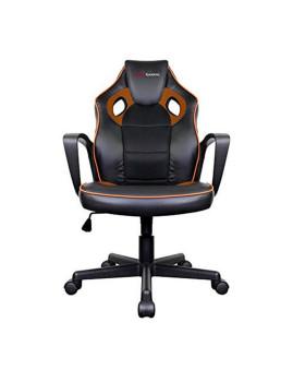 Cadeira de Gaming Preto e Laranja