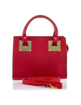 Mala Firenze Artegiani Luxury Bags Vermelho