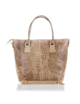 Mala Shopping Bag Firenze Boho Florencia Castanho Claro