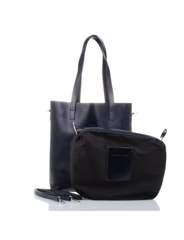 Mala Shopper Firenze Artegiani Luxury Bags Preta